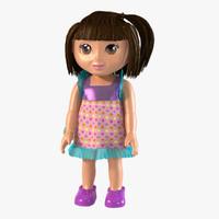 3d dora doll