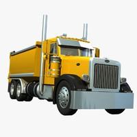 Peterbilt 367 Transfer Dump