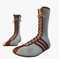 Vintage Adidas Boxing Boots