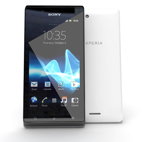 Sony Xperia J White Version