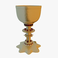 3ds max gold cup