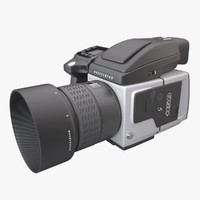 3d model photoreal camera hasselblad h5d