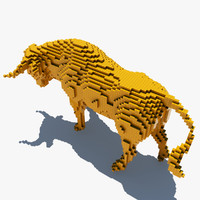 maya pixel bull