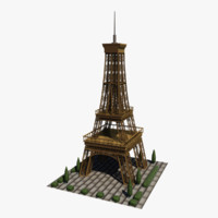 3ds max eiffel tower