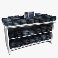 Mens Jeans Table