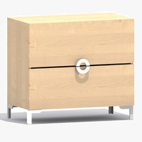 3d ikea engan commode