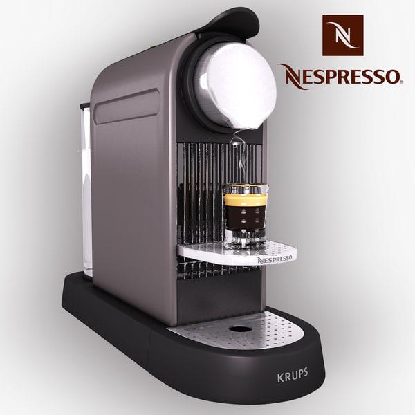 krups nespresso citiz max. Black Bedroom Furniture Sets. Home Design Ideas