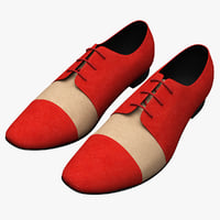 Men Shoes Ana Locking Red