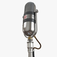 3dsmax rca 77-dx microphone