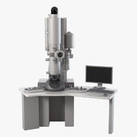 transmission electronic microscope 3ds