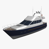 yacht boat cruise 3d max