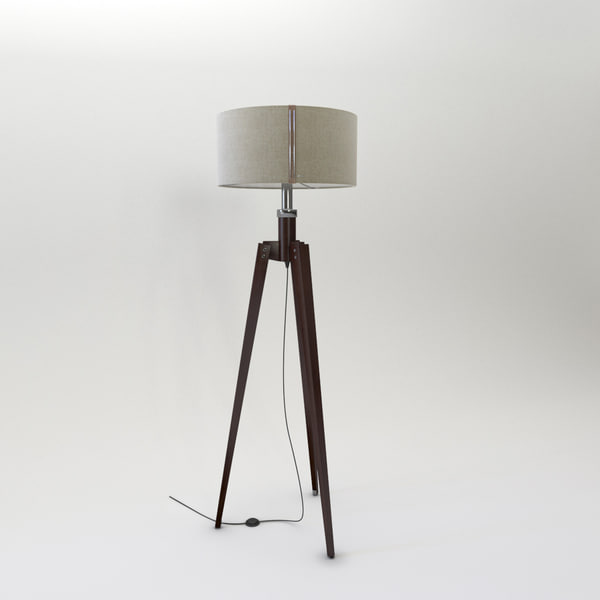 floor lamp 3d model - Floor Lamp 1... by fertim