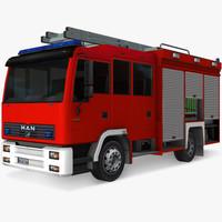 generic truck 3d lw