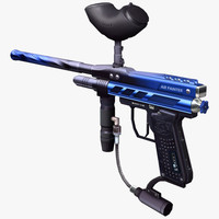 paintball gun 3d 3ds