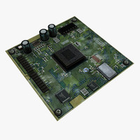 printed circuit board 3d model