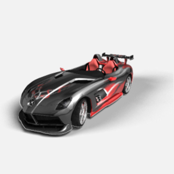 concept mclaren stirling moss 3d model - McLaren Stirling Moss... by gnats84
