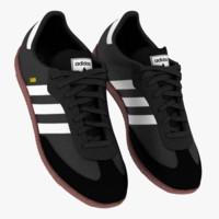 adidas samba classics black 3d 3ds