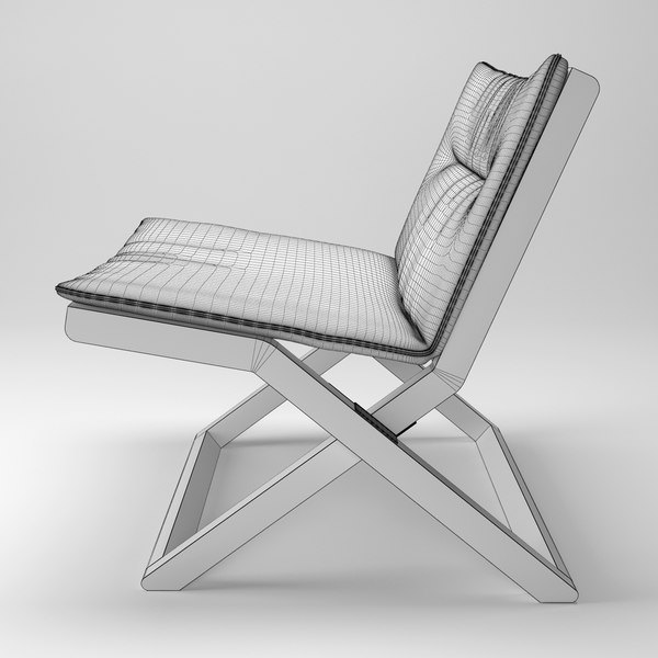 3d model cruiser easy chair stool