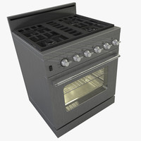 3d stove oven