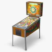 3d pinball machine simulations model