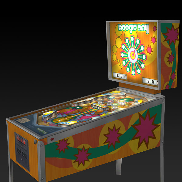 3d pinball machine simulations model - Pinball... by 3D Pro Models