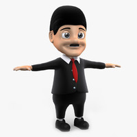3ds max businessman man