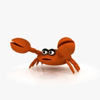 Cartoon Crab (Rigged)