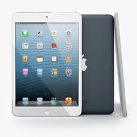 Apple iPad Mini Black and White with Smart Covers