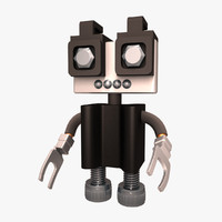 3d little robot