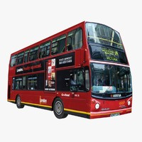 3ds max london bus
