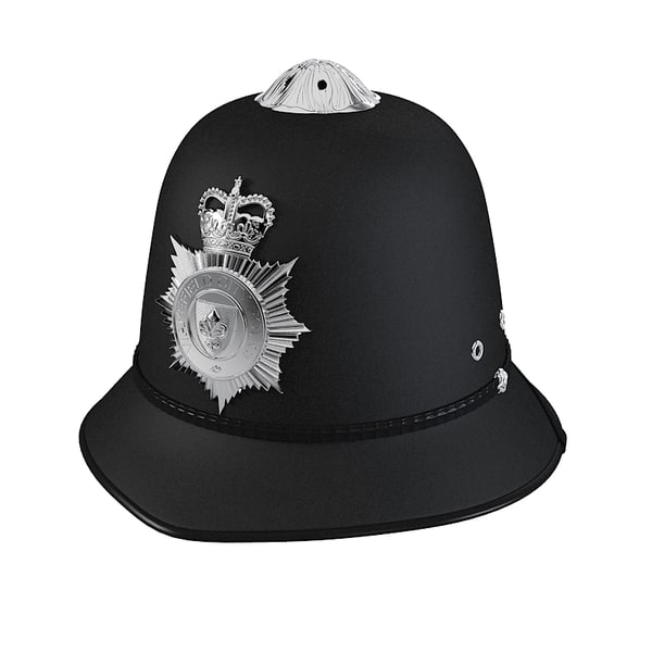 max english police bobby helmet - English Police Bobby Helmet... by shop3ds