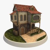 medieval tavern 3d 3ds