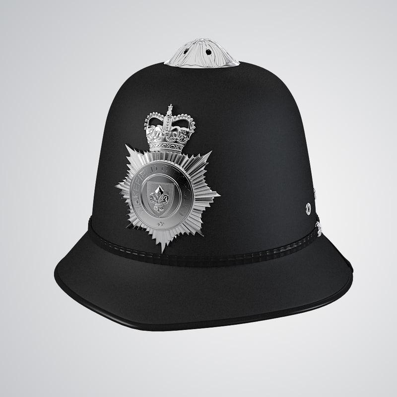 b English Police Bobby Helmet hat famous british crown0001.jpg