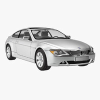 bmw 6 coupe 2006 3d 3ds