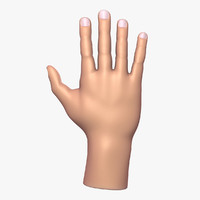 obj male hand
