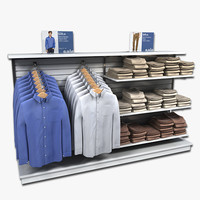 Mens Long Sleeved Shirt Display(1)
