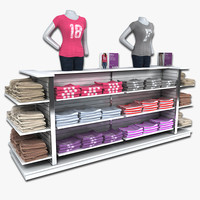 Womens T-Shirt Dislay Rack