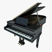 grand piano black max