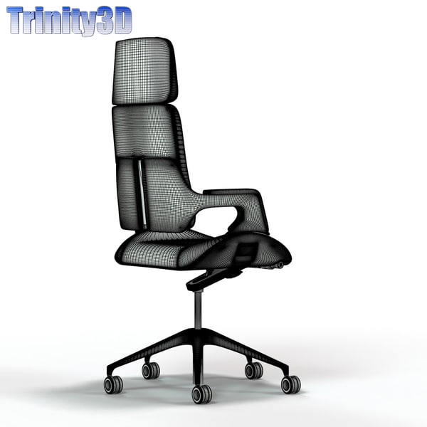 silver office chair model interstuhl silver high back office chair
