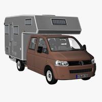 VW T5 Camper Crew Cab 2012