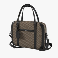 3d model gucci diamante briefcase