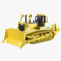 3d bulldozer komatsu d375a model