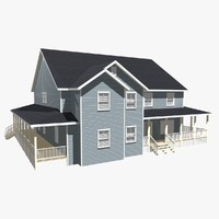 3d model of house home