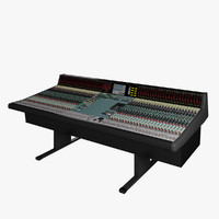 neve mastering console 3d model