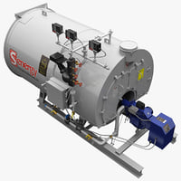 Industrial Boiler Senergy 40HP