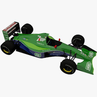 Michael Schumacher Jordan 191 Formula one car