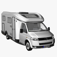 VW T5 Camper Single Cab 2012