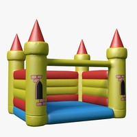 toy castle 3D models
