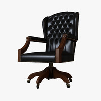 provasi directors chair 3d model