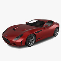 ac 378 gt zagato 3d model